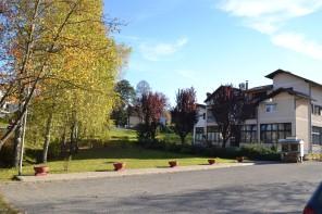Парк у кругу ресторана Европа, један од ријетких позитивних примјера