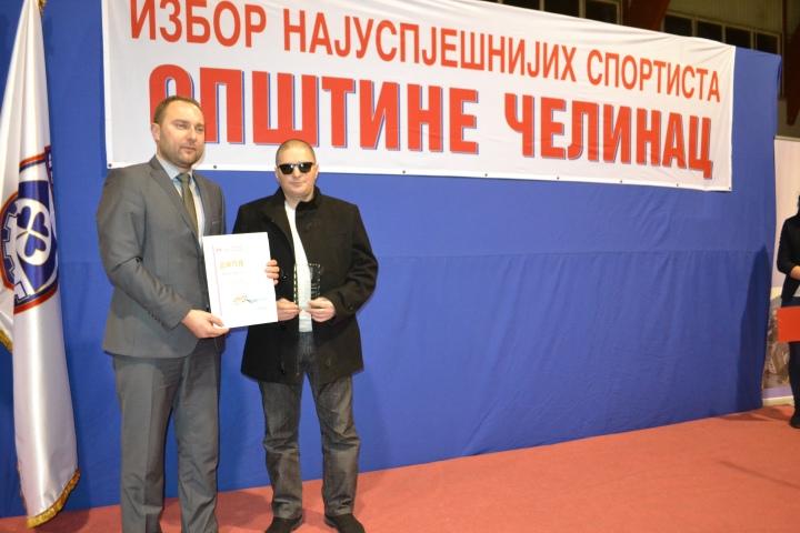 Miladin Dragojevic i predsjednik SO Celinac Dejan Kurtinovic